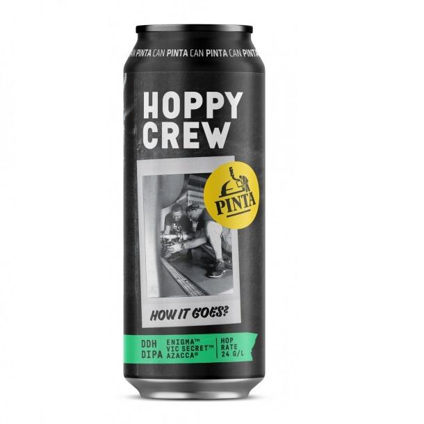 pinta hoppy crew how it goes