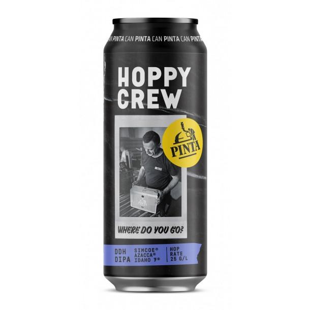 pinta hoppy crew where do you go can