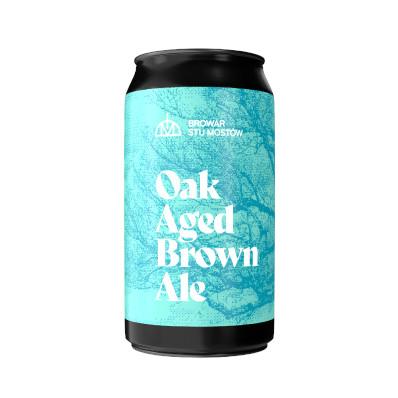 stu mostow oak aged brown ale