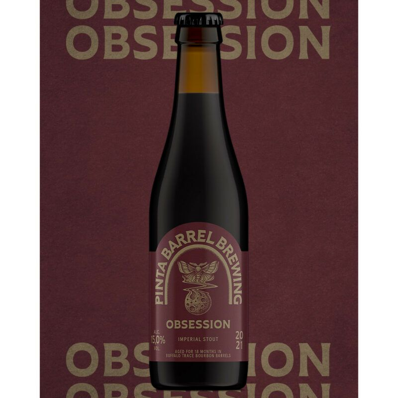 pinta barell Brewing obsession